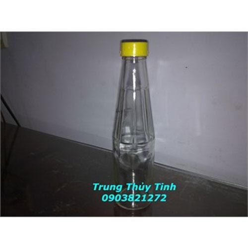CHAI THỦY TINH 220ML NẮP NHỰA