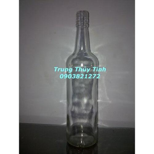 CHAI THỦY TINH 750ML NẮP NHÔM