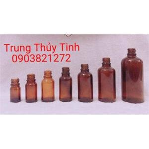 CHAI THỦY TINH NÂU 5ML - 100ML
