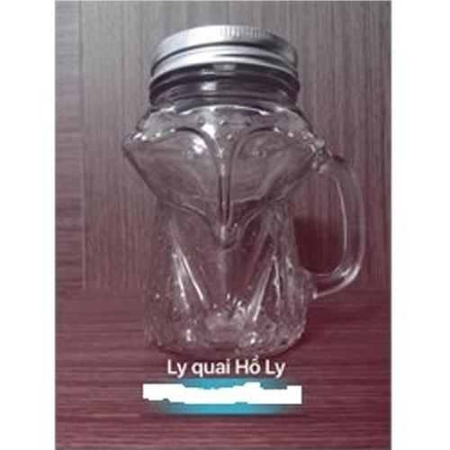 CHAI THỦY TINH QUAI HỒ LY 400ML