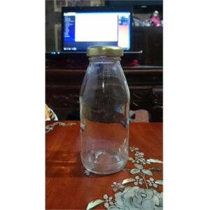 CHAI THỦY TINH S300ML (DỨA) NẮP THIẾC