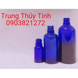 CHAI THỦY TINH XANH DƯƠNG 10ML - 100ML