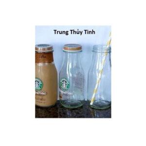 Chai Starbuck 300ml nắp nhôm