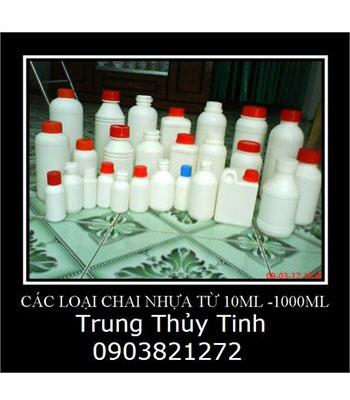 Chai nhựa đựng hóa chất từ 10ml đến 1000ml
