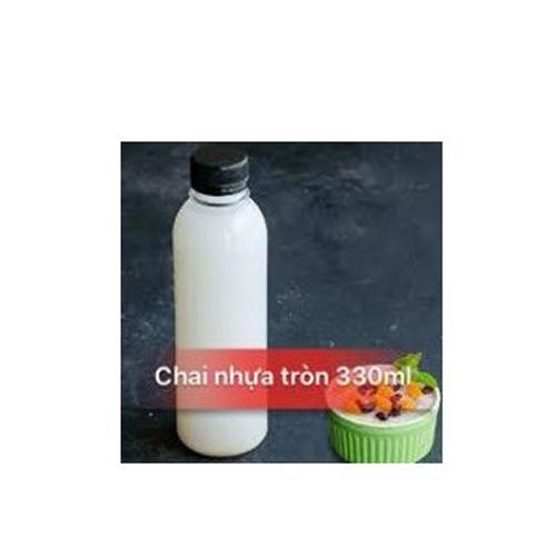 Chai nhựa tròn 350ml đựng trà sữa