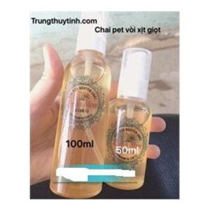 Chai nhựa vòi xịt giọt 50ml đến 100ml