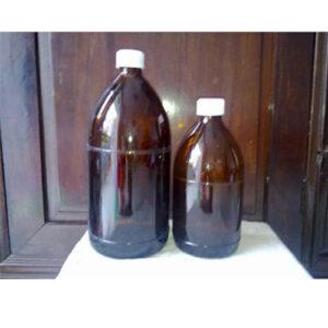 Chai thủy tinh nâu 500ml 1000ml đựng thuốc thú y hóa chất