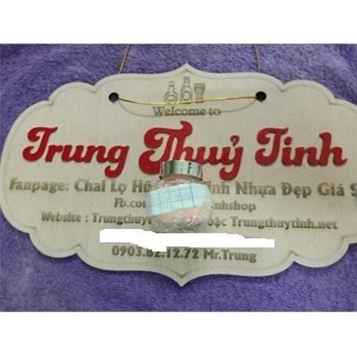 HŨ THỦY TINH TRÒN NGHIÊNG 50ML