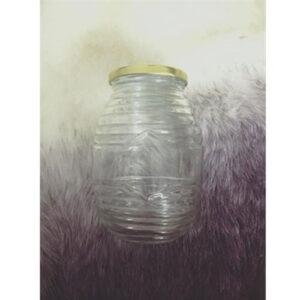 Hũ thủy tinh đựng mật ong 200ml nắp thiếc