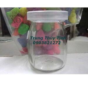 Hũ yaourt (pudding lùn) 100ml nắp nhựa